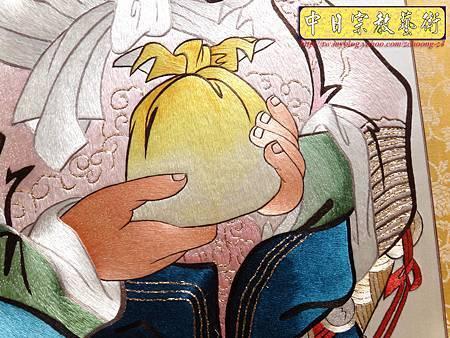 G2412.LV級手工刺繡關聖帝君像.JPG