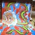 C5511.宮廟龍壁設計製作 四爪青龍 紅底雲層版.JPG