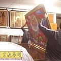 C5513.宮廟龍壁設計製作 四爪青龍 紅底雲層版.JPG