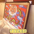 C5517.宮廟龍壁設計製作 四爪青龍 紅底雲層版.JPG