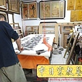C7007.大尺寸佛堂神桌聯~一貫道明明上帝聯.JPG