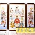 C7602.神桌神明聯~天上聖母媽祖畫像.JPG