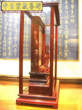 E5015.客家大牌祖先牌位雕刻 公媽龕製作.JPG