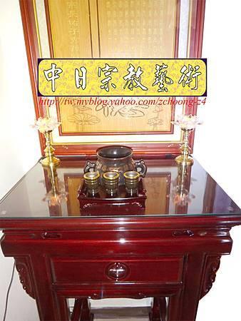 E5904.神桌樣式~小型公媽桌設計2尺2佛桌.JPG