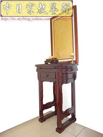 E5910.神桌樣式~小型公媽桌設計2尺2佛桌.JPG