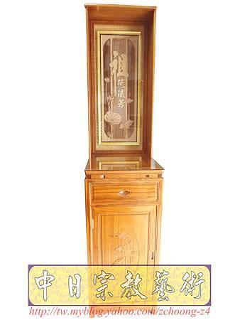 E6007.小型神桌樣式~48CM公媽桌祖先桌公媽櫥.JPG