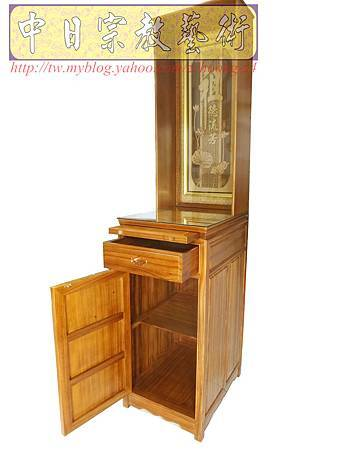 E6008.小型神桌樣式~48CM公媽桌祖先桌公媽櫥.JPG