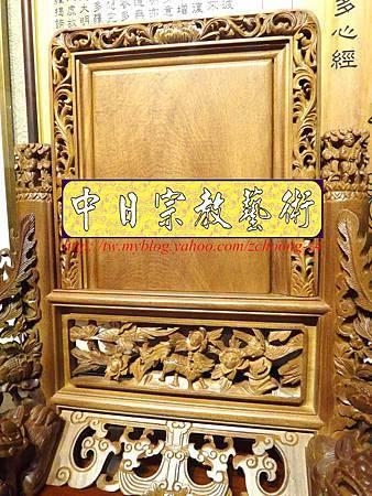 E6804.客家大牌雕刻 雙獅祖先牌位雕刻 肖楠木公媽牌製作.JPG