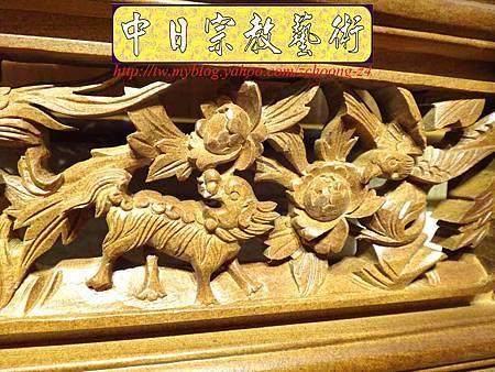E6807.客家大牌雕刻 雙獅祖先牌位雕刻 肖楠木公媽牌製作.JPG
