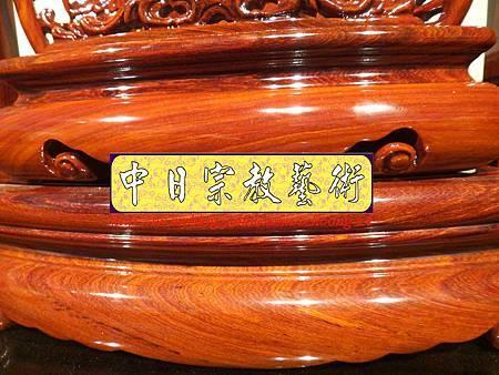 E7708.神主牌位雕刻 紫檀木祖先牌位~福祿壽.JPG