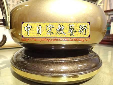 F4108.神桌香爐系列~有耳型神明爐 高級銅器.JPG