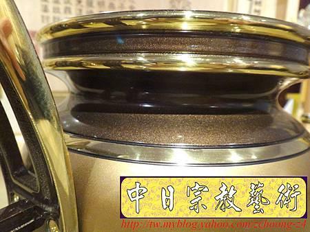 F4112.神桌香爐系列~有耳型神明爐 高級銅器.JPG