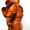 L4315.神桌神像精品雕刻-關公 關老爺 關聖帝君木雕藝品.JPG