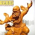 L4408.達摩祖師木雕 樟木神桌神像雕刻.JPG