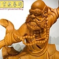 L4409.達摩祖師木雕 樟木神桌神像雕刻.JPG
