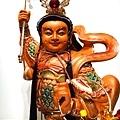 L4503.三太子木雕神像 中壇元帥神桌佛像雕刻.JPG
