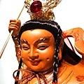 L4504.三太子木雕神像 中壇元帥神桌佛像雕刻.JPG