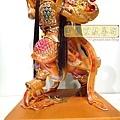 L4505.三太子木雕神像 中壇元帥神桌佛像雕刻.JPG