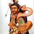 L4507.三太子木雕神像 中壇元帥神桌佛像雕刻.JPG