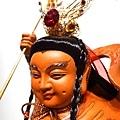 L4508.三太子木雕神像 中壇元帥神桌佛像雕刻.JPG