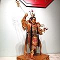 L4512.三太子木雕神像 中壇元帥神桌佛像雕刻.JPG
