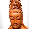 L4604.騬龍觀音木雕神像 站龍觀世音菩薩神桌佛像雕刻.JPG