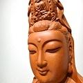 L4605.騬龍觀音木雕神像 站龍觀世音菩薩神桌佛像雕刻.JPG