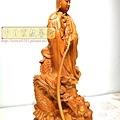 L4612.騬龍觀音木雕神像 站龍觀世音菩薩神桌佛像雕刻.JPG