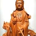 L4702.騬龍觀世音木雕神像 站龍觀世音菩薩神桌佛像雕刻.JPG
