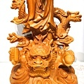 L4705.騬龍觀世音木雕神像 站龍觀世音菩薩神桌佛像雕刻.JPG