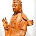 L4710.騬龍觀世音木雕神像 站龍觀世音菩薩神桌佛像雕刻.JPG