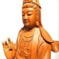 L4712.騬龍觀世音木雕神像 站龍觀世音菩薩神桌佛像雕刻.JPG