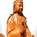 L4717.騬龍觀世音木雕神像 站龍觀世音菩薩神桌佛像雕刻.JPG
