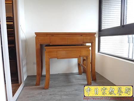 M12901.時尚感的神桌 4尺2柚木佛桌.JPG