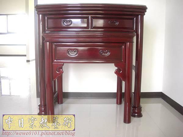 M13202.公寓小神桌 3尺6圓腳佛桌.JPG