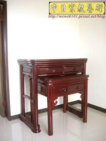M13203.公寓小神桌 3尺6圓腳佛桌.JPG