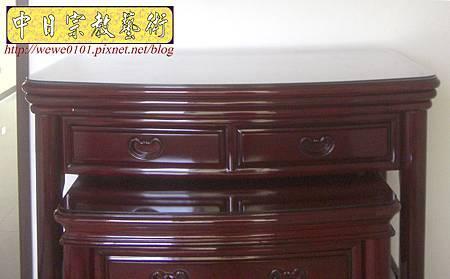 M13205.公寓小神桌 3尺6圓腳佛桌.JPG