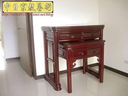 M13206.公寓小神桌 3尺6圓腳佛桌.JPG