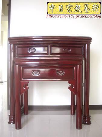 M13207.公寓小神桌 3尺6圓腳佛桌.JPG