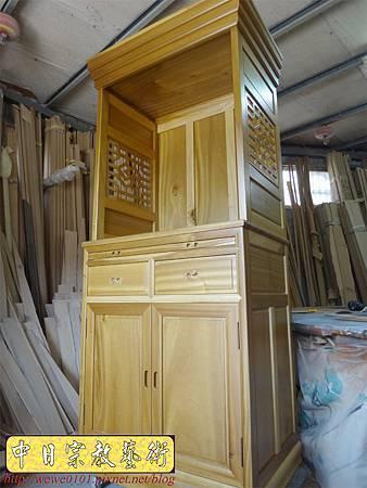 M13901.現代感的神桌櫥佛桌櫥 神龕佛龕設計 窗花版.JPG