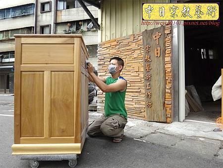M13903.現代感的神桌櫥佛桌櫥 神龕佛龕設計 窗花版.JPG