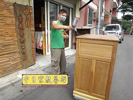M13906.現代感的神桌櫥佛桌櫥 神龕佛龕設計 窗花版.JPG