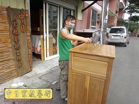 M13907.現代感的神桌櫥佛桌櫥 神龕佛龕設計 窗花版.JPG