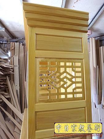 M13924.現代感的神桌櫥佛桌櫥 神龕佛龕設計 窗花版.JPG