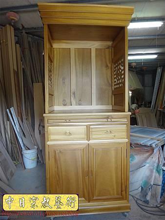 M13927.現代感的神桌櫥佛桌櫥 神龕佛龕設計 窗花版.JPG