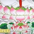 C8009.神桌手繪觀音彩 佛桌聯 觀世音菩薩3尊版.JPG