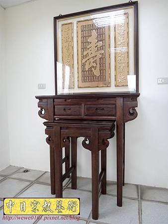 E8605.3尺6祖先桌公媽桌 壽字百壽祖先龕公媽龕.JPG