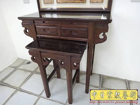 E8615.3尺6祖先桌公媽桌 壽字百壽祖先龕公媽龕.JPG