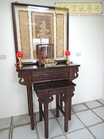 E8616.3尺6祖先桌公媽桌 壽字百壽祖先龕公媽龕.JPG