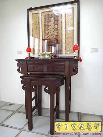 E8617.3尺6祖先桌公媽桌 壽字百壽祖先龕公媽龕.JPG